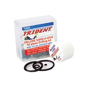 Trident Deluxe Save A Dive Kit 40 Piece O-Ring Kit