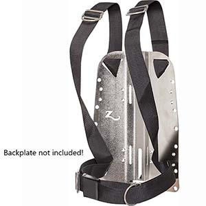 Zeagle Standard Harness for Backplate