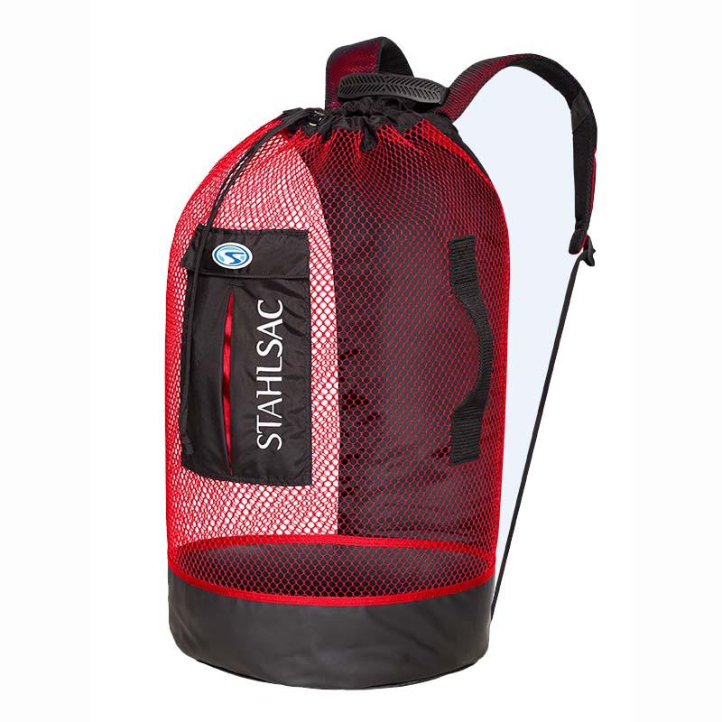 Stahlsac panama mesh backpack mesh boat dive bags for Dive gear bag