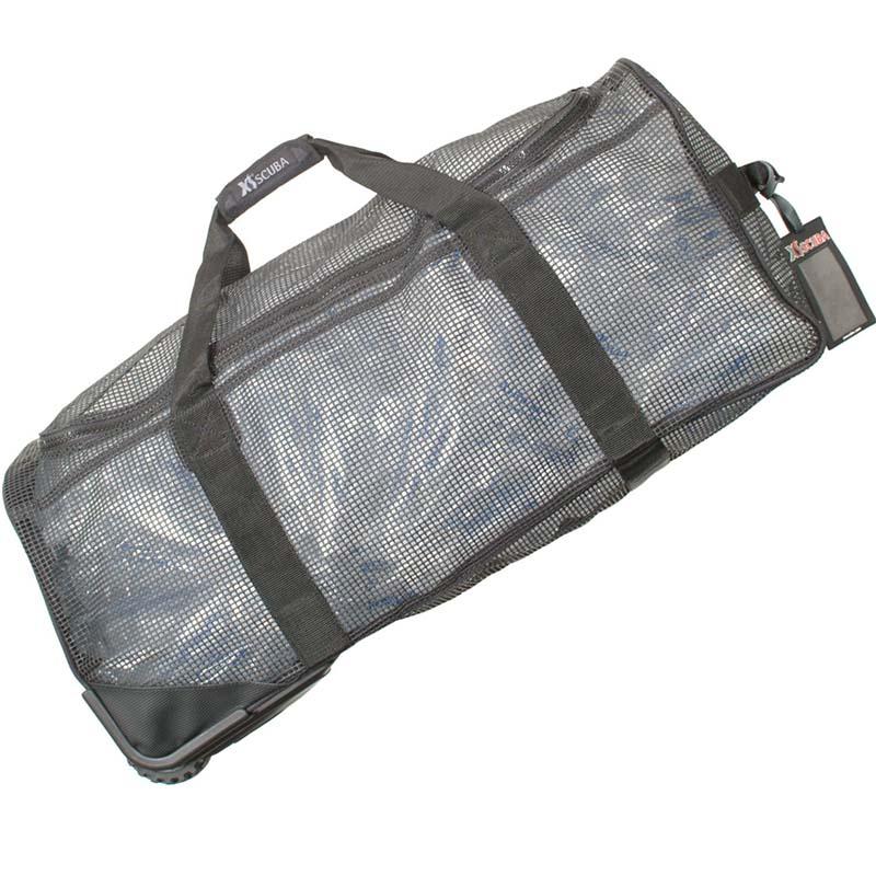 1b3f23a81 XS Scuba Wheeled Mesh Duffle Bag - Mesh & Boat Dive Bags - Scuba ...