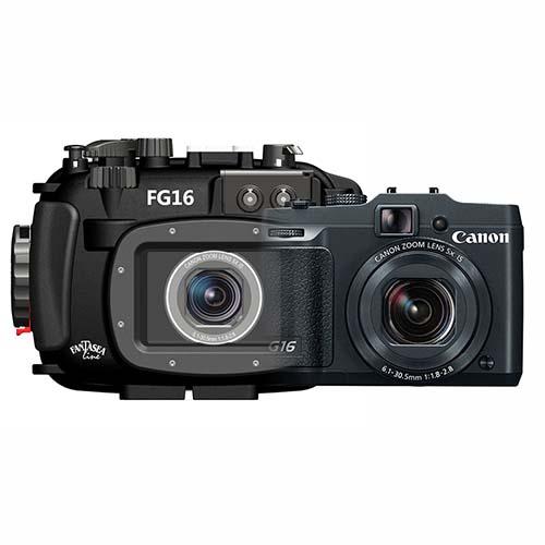 Canon g16 camera and housing by fantasea e cameras scuba