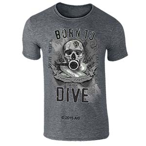 Amphibious Outfitters Born To Dive T-Shirt