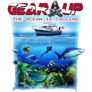 Amphibious Outfitters Gear Up T-Shirt