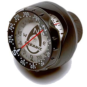 Oceanic Hose Mount Compass