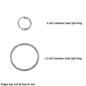 Dive Rite Stainless Steel Split Ring