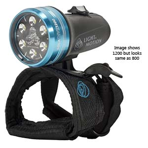 Light & Motion Sola DIVE 800 S/F Black