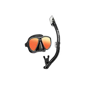 Tusa Powerview Adult Dry Combo with Mirror Lens