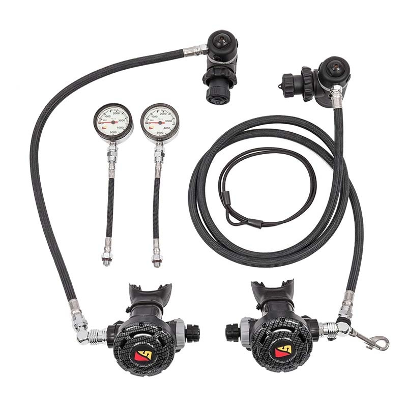Dive rite xt nomad sidemount regulator package - Dive rite sidemount ...