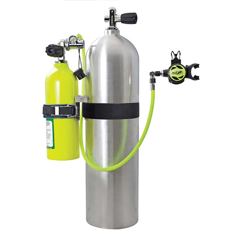 Tri Mix Tank : Xs scuba xtr extra air complete backup rescue system