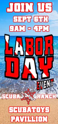 Scubatoys Labor Day Event 2020