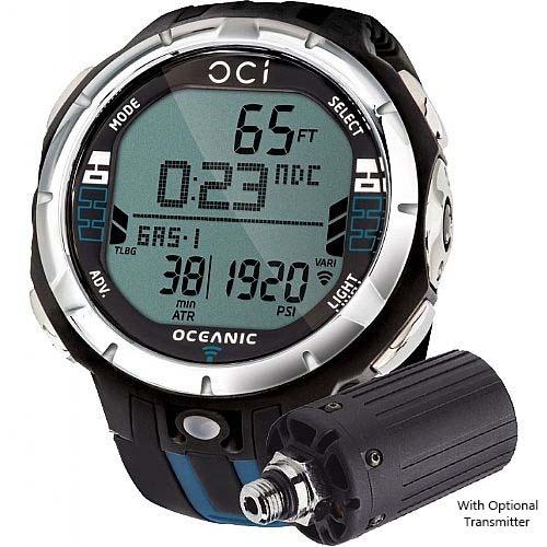 Oceanic oci air integrated dive computer wrist dive for Dive computer wrist