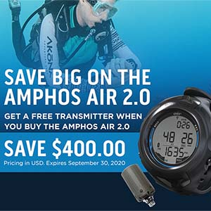 Sherwood Amphos Air 2.0 Integrated Wrist Computer