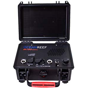 OCEAN REEF M105 Digital Transceiver Surface Unit with Battery Tester