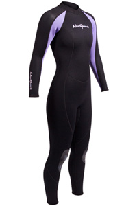 NeoSport 3/2mm Full Womens Jumpsuit Wetsuit