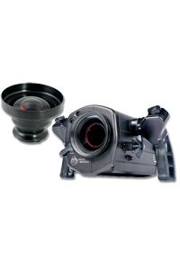 Light and Motion Blue Fin Video Housing With F 80 lens
