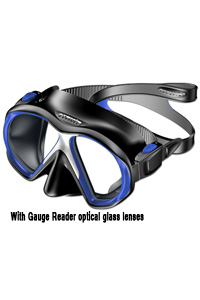 Atomic Sub Frame Mask With Gauge Reader Lens