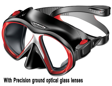 f7c06eb9b1 Atomic Sub Frame Mask With Corrective Lens - Dive Mask RX   Lenses ...