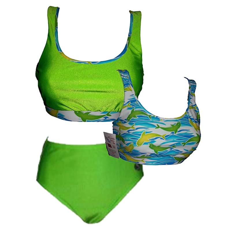 Wow Bikini Top and Bottom Combo by Dive Buddy Originals - Dive