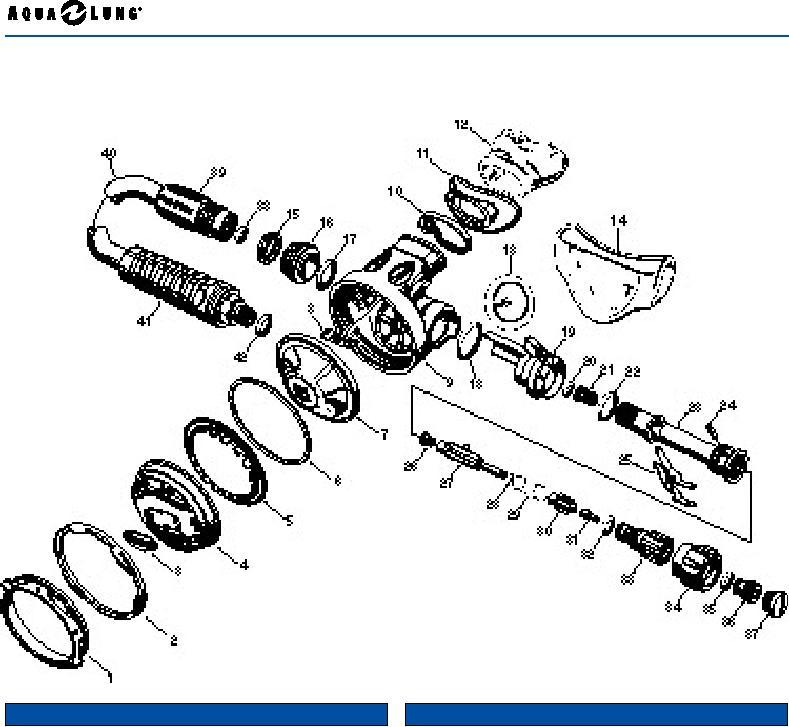 aqualung legend second stage repair manual page 17 of 18 rh scubatoys com 1995 acura legend repair manual pdf 1995 acura legend repair manual pdf
